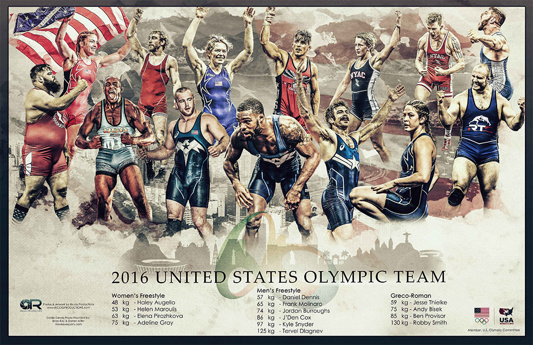 2016 Olympics USA Wrestling Team
